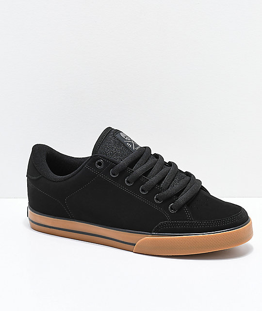 3b3a94dfa8 Circa Lopez 50 Black   Gum Skate Shoes