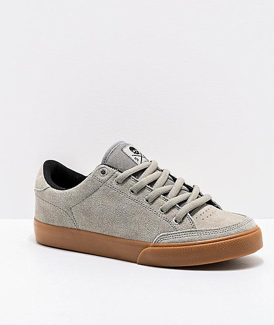 bf221cb3415a Circa Lopez 50 Flint Grey   Gum Skate Shoes