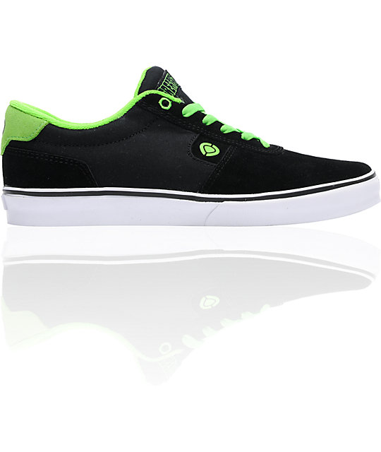 Circa x Creature Lamb  Black & Creature Green Skate Shoes