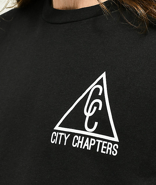 City Chapters Bay Area camiseta negra