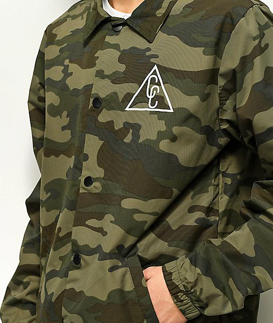 City Chapters Portland Camo & White Coaches Jacket
