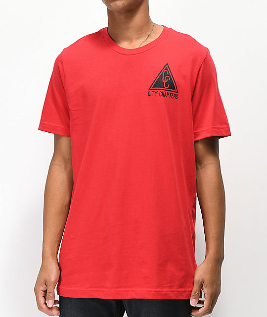 City Chapters The Bay Rose camiseta roja