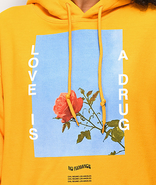 Civil Love Is Yellow Hoodie