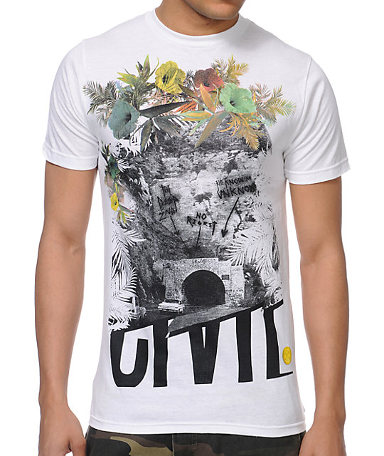 Civil The Unknown White T-Shirt