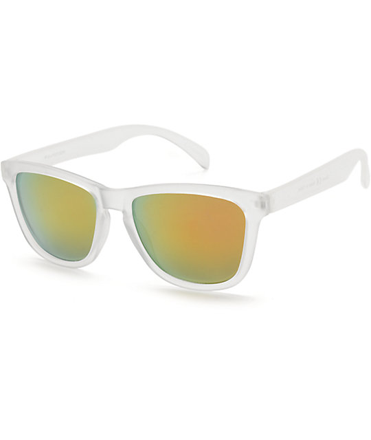 Classic Clever Clear & Red Revo Sunglasses