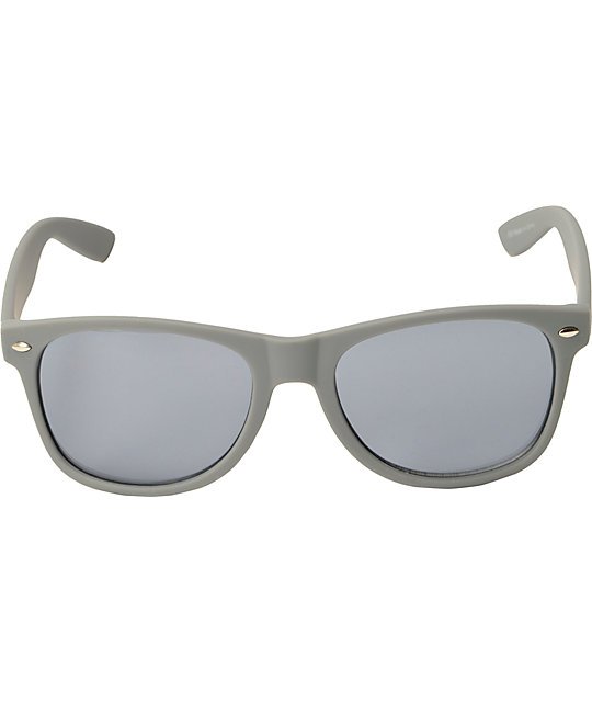 Classic Smooth Operator Matte Grey Sunglasses