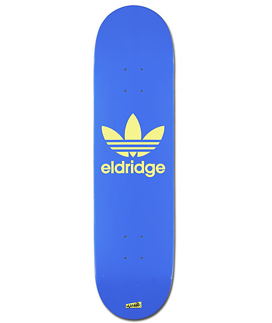 "Cliche X Adidas Pete Eldridge 8.0""  Pro Model Skate Deck"