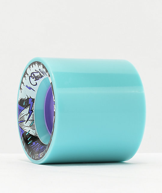 Cloud Ride Storm Chaser 73mm 83a Blue Longboard Wheels