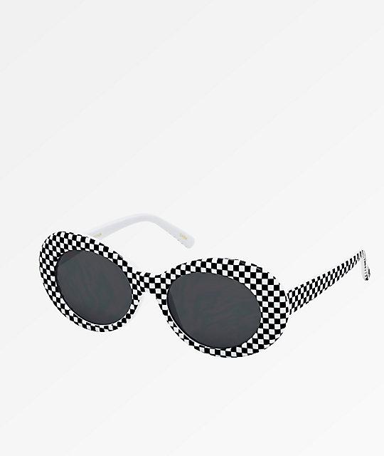 0a31c8cf618 Clout Goggle Checker   Smoke Sunglasses