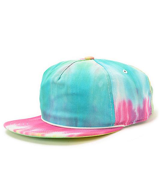 e59eba9e84ccb Coal Easy Tie Dye Snapback Hat