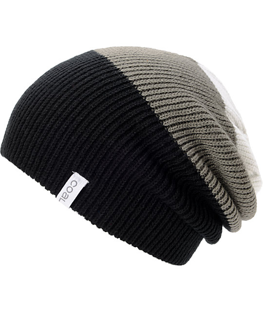 db7fa1f267c Coal Frena Black Striped Beanie