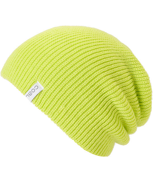 Coal Frena Yellow Knit Beanie