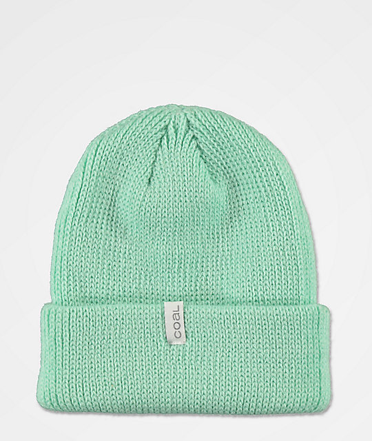 Coal Frena gorro de color menta