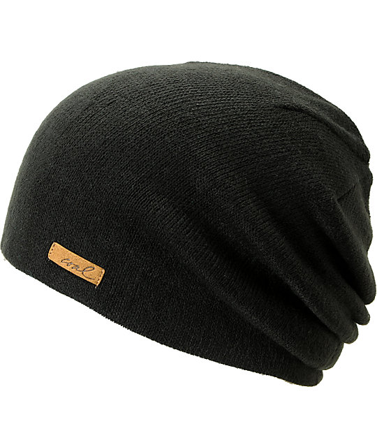 Coal Julietta Black Slouchy Beanie