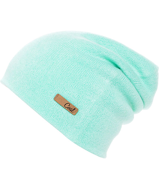 2169fcc69ed95 Coal Julietta Mint Slouch Beanie