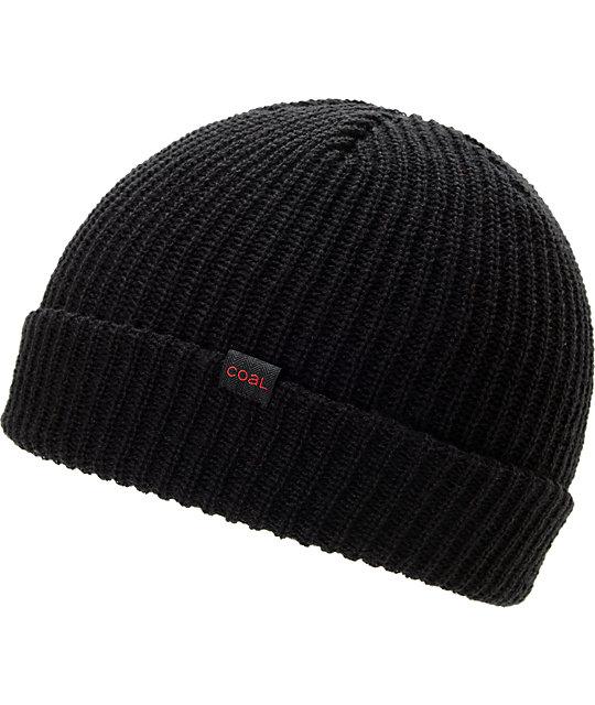 Coal Stanley Black Cuff Beanie  693159c10ac3