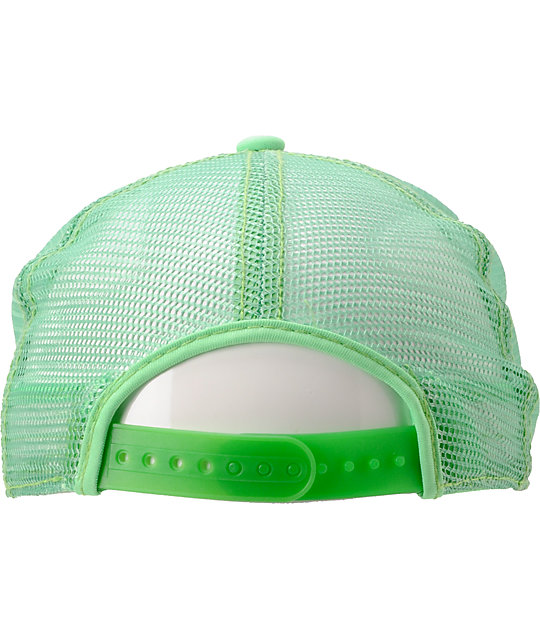 Coal The Arnie Neon Green Trucker Hat