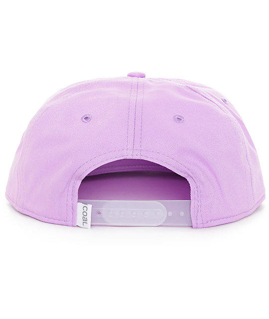 Coal The Best Friend Lilac Snapback Hat
