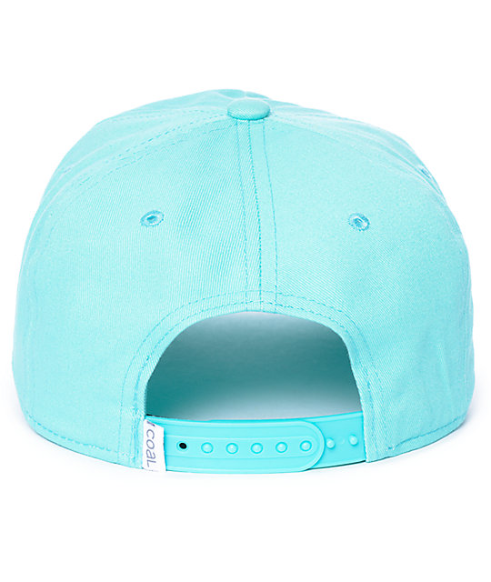 Coal The Oasis Unstructured Mint Snapback Hat