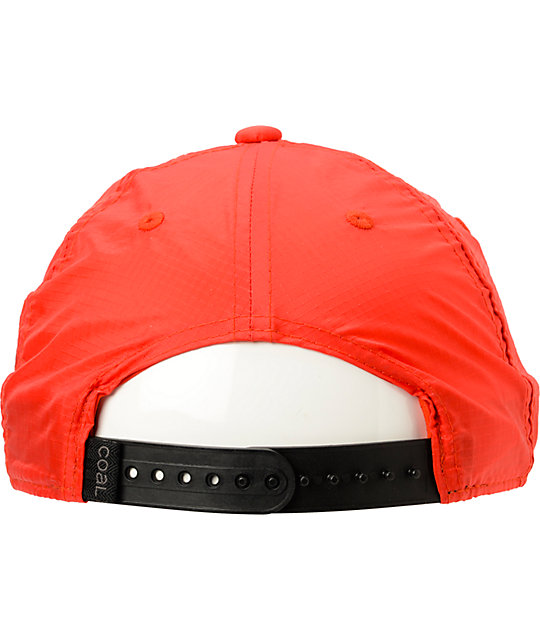 ... Coal The Paradise Red Snapback Hat 9749d1841cc