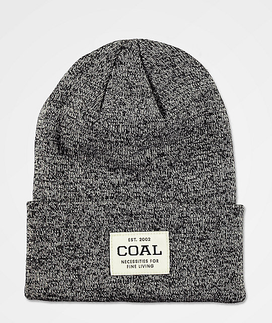 Coal Uniform Black Marl Beanie