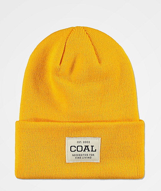 Coal Uniform Golden Rod Beanie  f4f34cc1375e