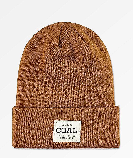 Coal Uniform Light Brown Beanie