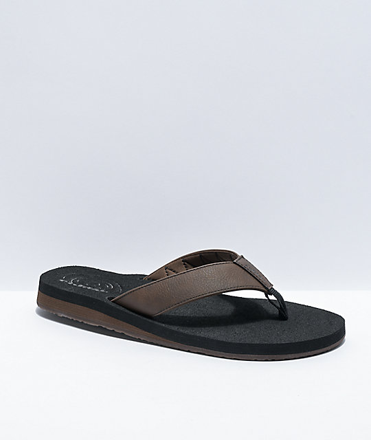Cobian Floater 2 Black & Chocolate Sandals