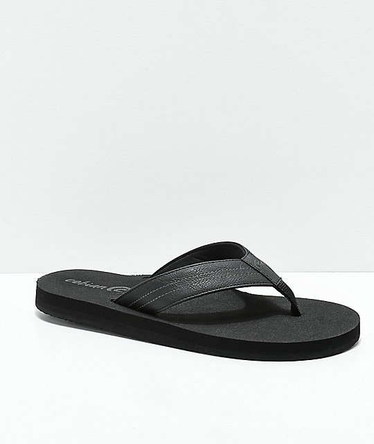 Cobian The Costa Black Sandals