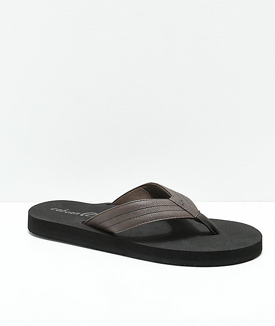 Cobian The Costa Chocolate Sandals