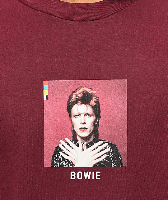 Color Bars x David Bowie Ziggy Stardust Long Sleeve T-Shirt