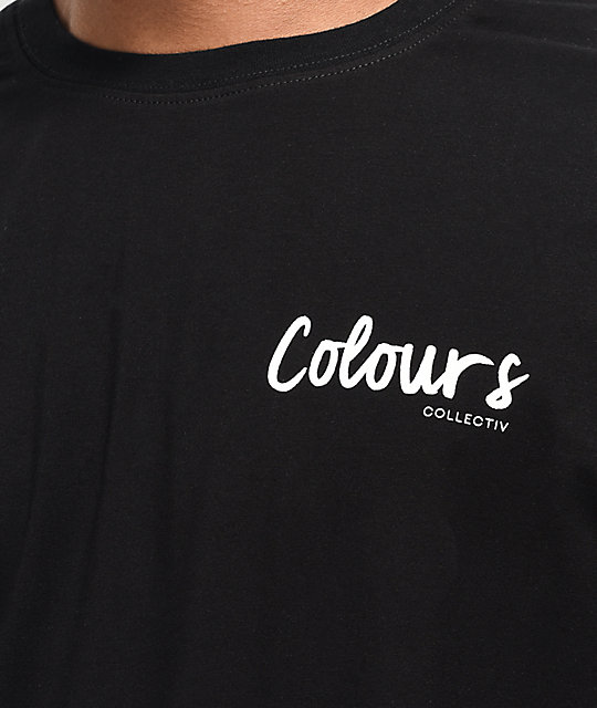 Colours Collectiv Aja Profile camiseta negra
