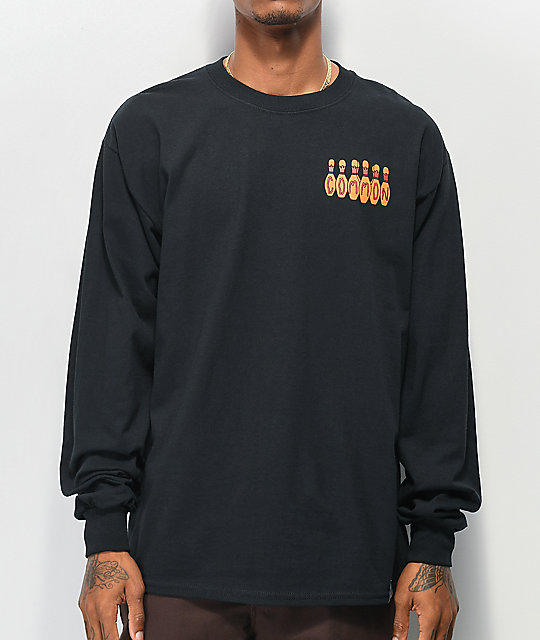 Common Kingpin Black Long Sleeve T-Shirt