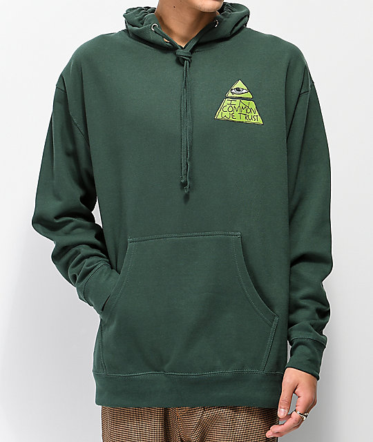 Common Trust Fund Green Hoodie
