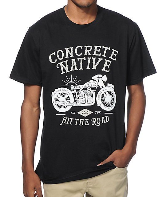 Concrete Native Easy Rider T-Shirt