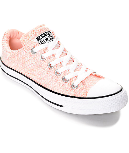 Hombre Chuck Taylor All Star High Top, 7 hombres 9 mujeres, rosa