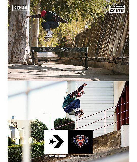 bb25d9d2800d ... Converse Al Davis Court Pro Leather White Skate Shoes