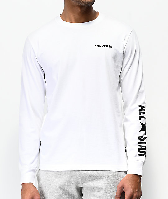 converse long sleeve