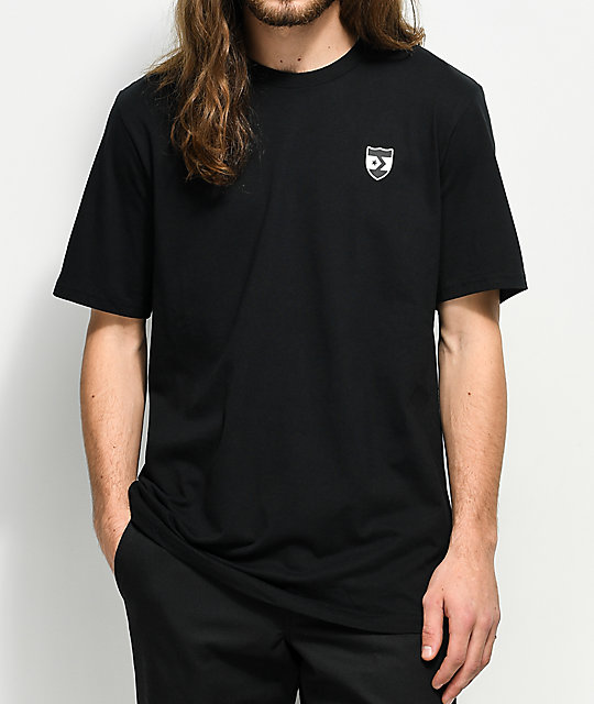 Converse Back Crest Black T-Shirt