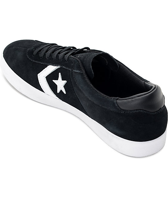Converse Breakpoint Pro Ox Black & White Skate Shoes