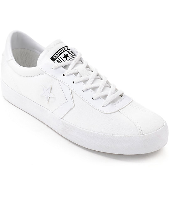 98558f9197 Converse Breakpoint White Canvas Womens Shoes | Zumiez