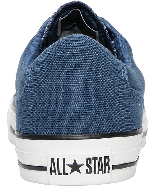 Converse CT LS Dark Denim, White & Black Shoes