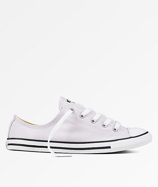 5f44ece674ea Converse CTAS Dainty Barely Grape   White Shoes