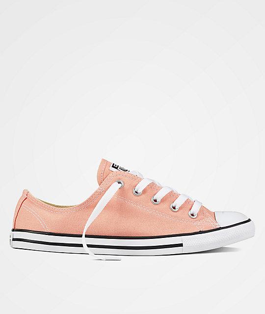 80d13b50ac48 Converse CTAS Dainty Pale Coral Shoes