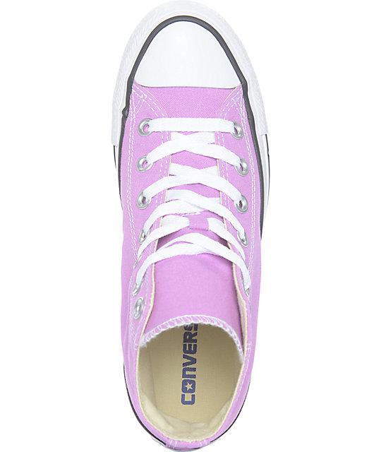 10a29dab4333b6 ... Converse CTAS Hi Fuchsia Glow Shoes ...