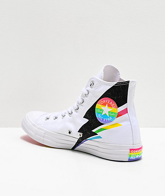 Converse Pride Rainbow Speckle Chuck Taylor High Top