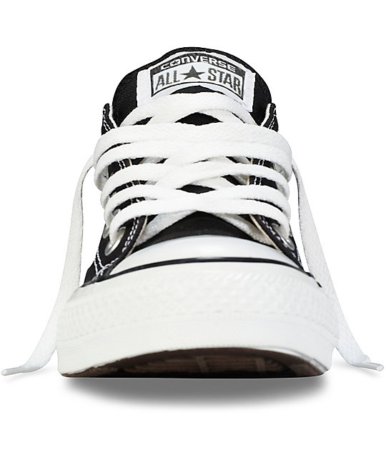 Converse CTAS Ox Black Canvas Shoes