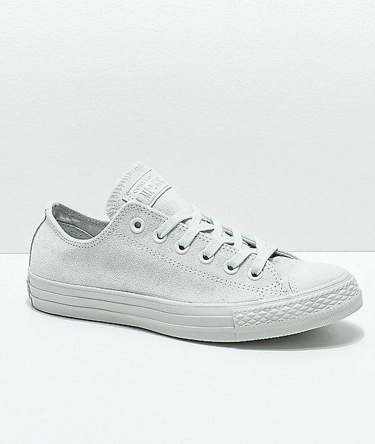 Converse Ox Suede Ctas Mono Zumiez Shoes Grey pPvFqwxp
