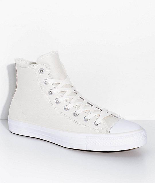 90810e061aa3 Converse CTAS Pro Hi Egret   Dusty Pink Skate Shoes