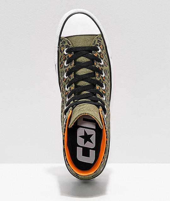 3c3540b79c7 ... Converse CTAS Pro Hi Leopard Print Skate Shoes ...
